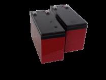 Suljettu High-rate AGM-VRLA akku/8Ah/151x65x94/F2
