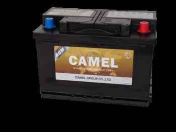 Käynnistysakku CAMEL OEM AGM/80Ah/800A/315*175*190/B13/-+