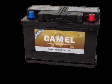 Käynnistysakku CAMEL OEM AGM/80Ah/800A/310*175*190/B13/-+
